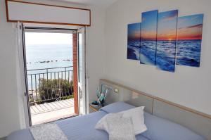 Camera con vista mare Albergo Margherita